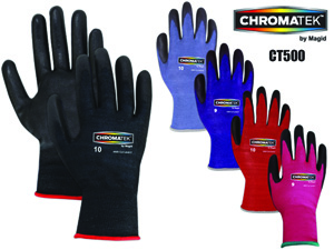 ChromaTek CT500 Multi-Colored HPPE Work Gloves