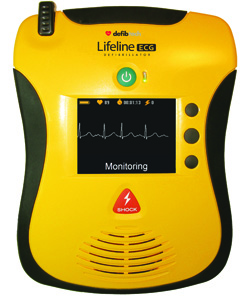 Defibtech Lifeline ECG and PRO AEDs