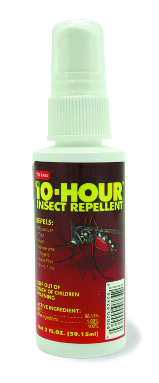 The 10 Hour Insect Repellent