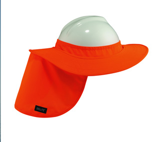 Hard Hat Brim with Shade