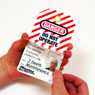 Self-Laminating Photo ID Tags