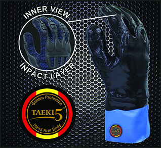 Taeki5 Cordova Monarch Chemical/Cut/Impact Gloves