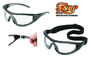 Swap MAG Bifocal Safety Eyewear Solution