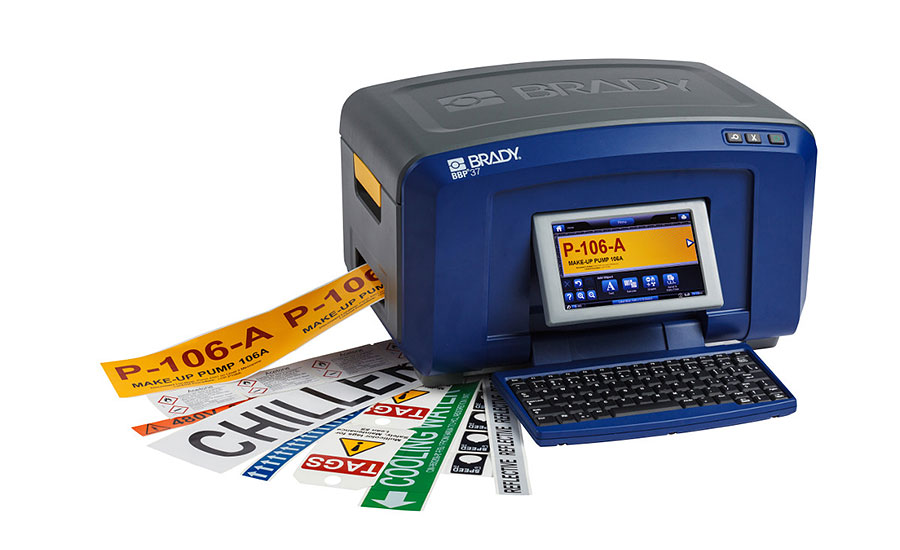 Brady BBP37 Color Cut Sign Label Printer
