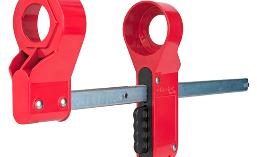 Master Lock Blind Flange Lockout