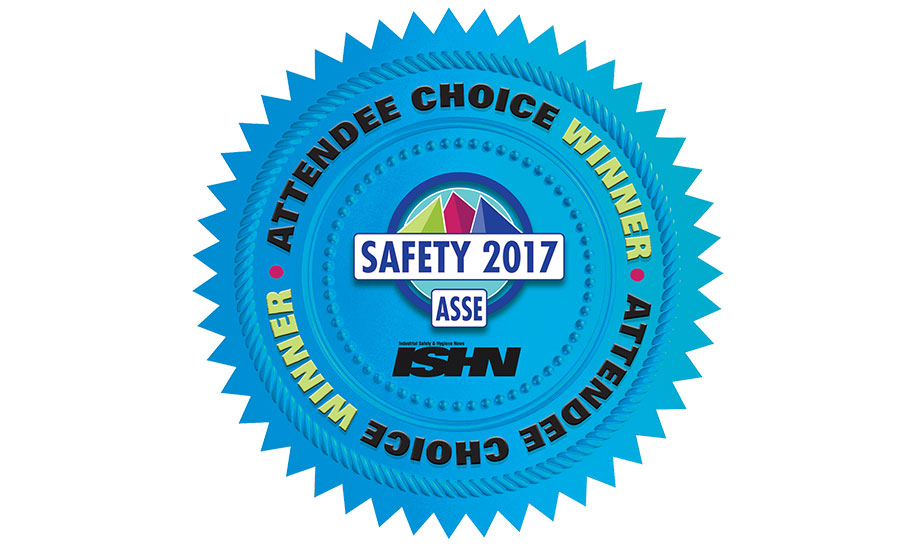 Safety 2017 Attendee Awards winners