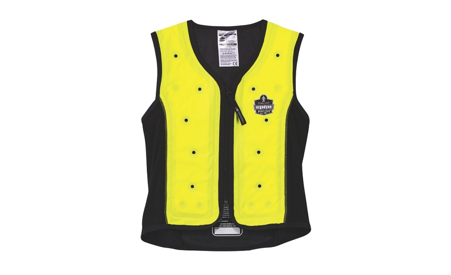 Ergodyne's Chill-Its 6685 Dry Evaporating Cooling Vest