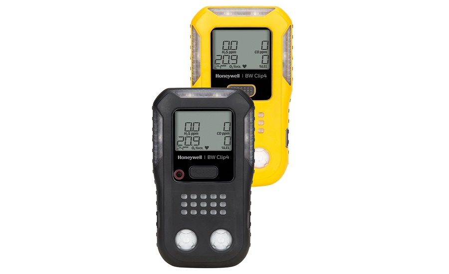 Honeywell's BW Clip4 Multi-Gas Detector