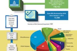 2013 State Legislatice Summary infographic