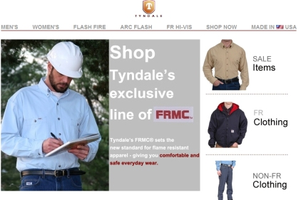 Tyndale trumpets American-made safety products | 2011-12-08