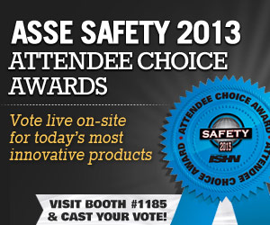 ASSE 2013 Attendee Choice Awards