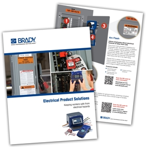 Electrical Product Solutions brochure from Brady