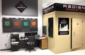 Radians hearing test lab