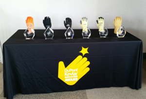 DuPont glove awards