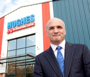 Hughes Safety Showers Managing Director Tony Hughes