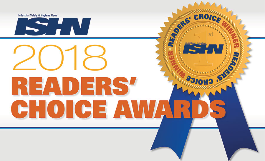 2018 Readers' Choice Awards Winners: Best PPE, safety equipment products