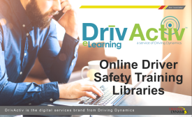 Online Fleet Driver Safety Training