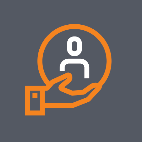 Infocenter support icon.
