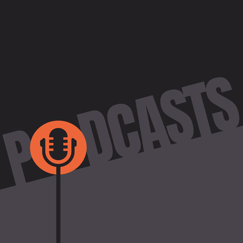 Podcasts icon.