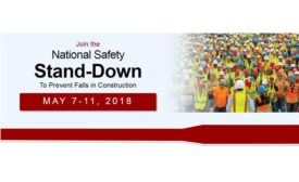 National Safety Stand-Down 2018