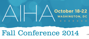 AIHA 2014 Fall Conference