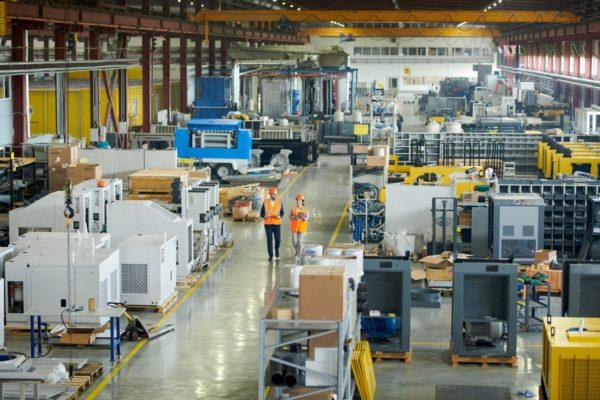 Manufacturing plant communication