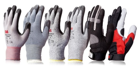 3M safety gloves