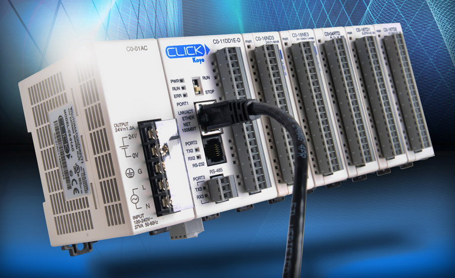 AutomationDirect adds Ethernet PLCs to CLICK® line | 2015-12-04 | ISHN