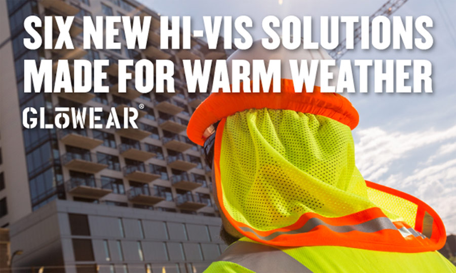 Ergodyne adds hi-vis summer solutions to Glowear® for cool and conspicuous comfort