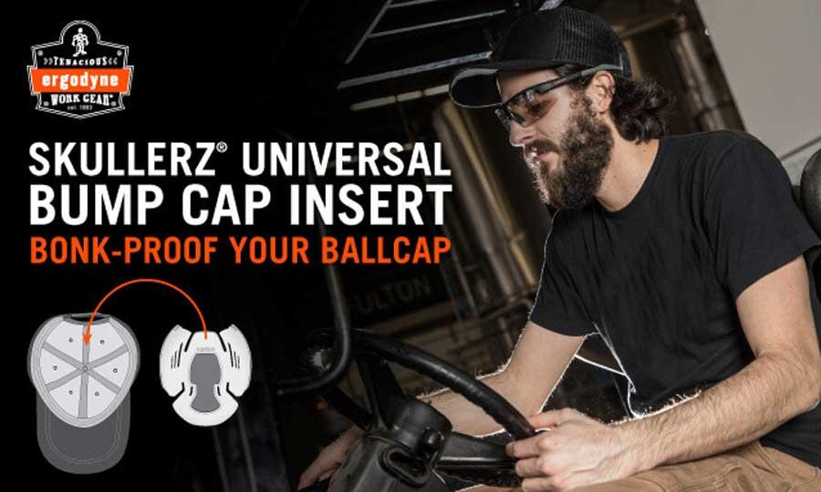Bump Cap Insert Foam Pad Shell Low Profile Baseball Cap Hard Hat Protect Safety