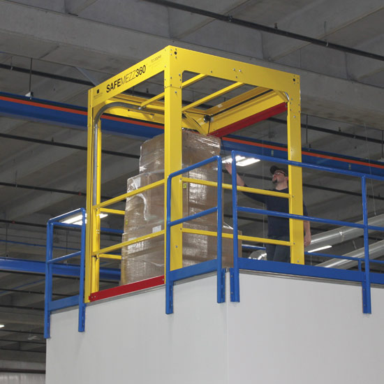 Safety Rails For Mezzanine : Ps doors to showcase ansi compliant safemezz ™ and new
