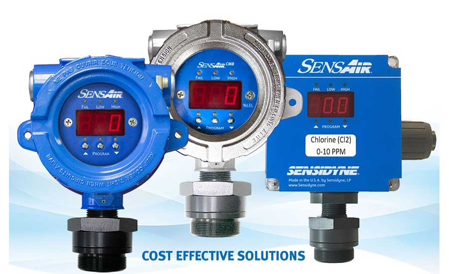 Sensidyne® announces new approvals for the SensAir® fixed gas detector series