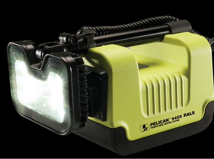 Pelican Products improves worker safety with the world's first Class I, Division 1 remote area light