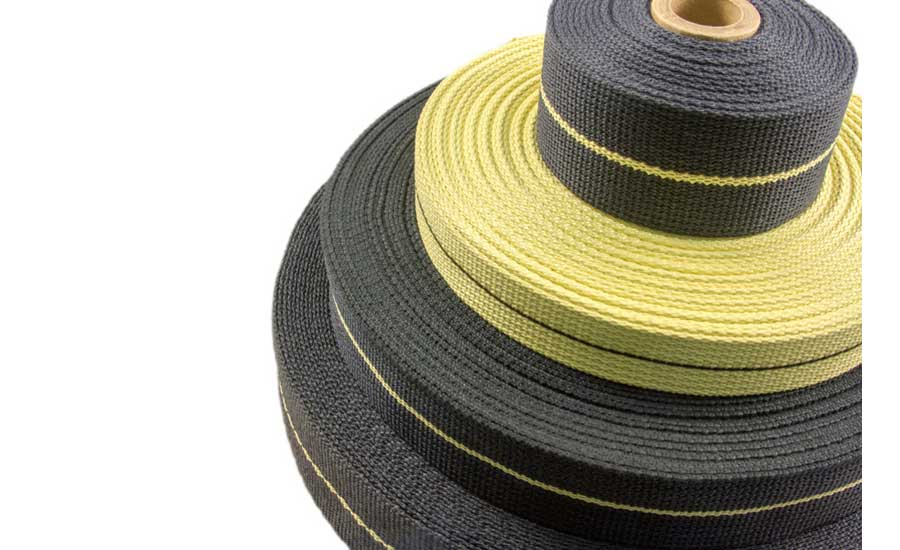 Bally Ribbon Mills announces safety webbing and tapes for fall protection