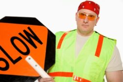 construction drive-by hazards