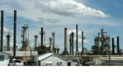Wyoming Refining Co.'s oil refinery