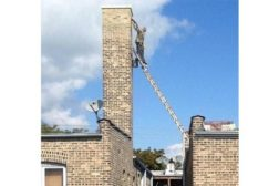 Biggest idiot on a ladder