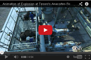 CSB Tesoro Refinery video