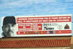 OSHA billboard