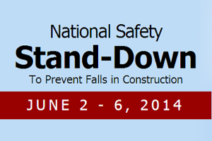Construction industry Safety Stand-Down