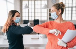 Face masks in the workplace